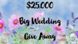 Big Wedding Give A Way