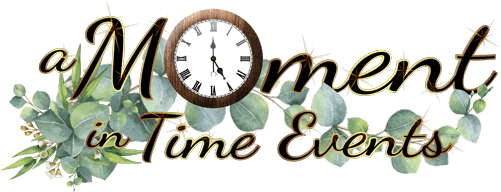 A Moment in Time Events Logo