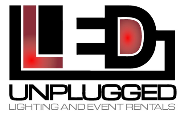 LED Unplugged Lighting and Event Rentals logo